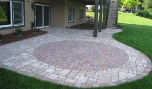 Brick Patio Layout