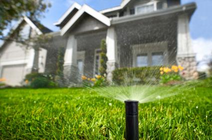 Water Sprinkler System Maple Grove
